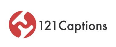 121 Captions Logo
