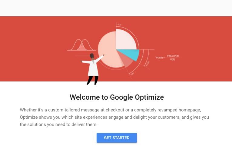 Google Optimize Sign Up