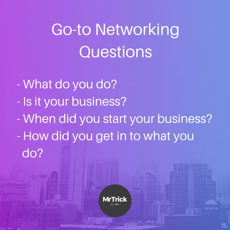 go-to networking questions