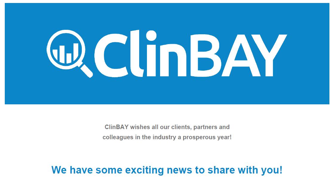 ClinBAY - Newsletter February 2020