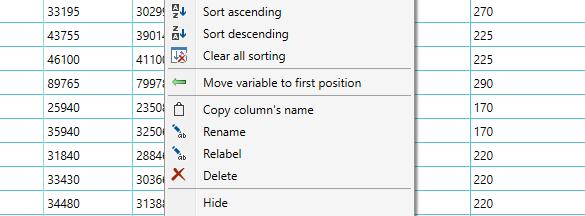 Manipulate columns
