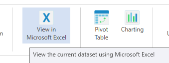 Export & View Data in Excel