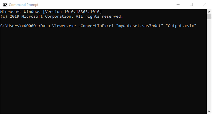 Automate with batch commands