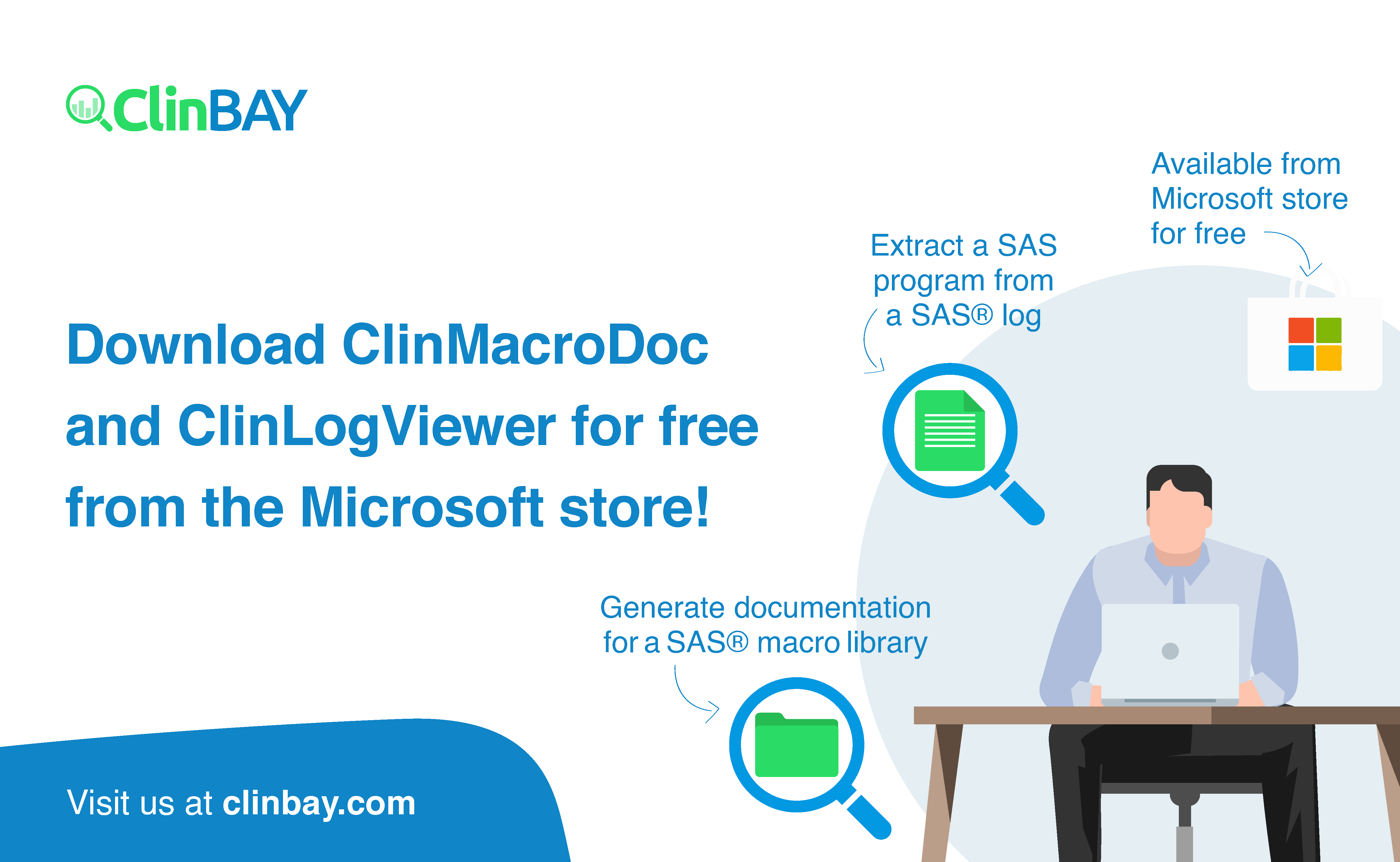ClinBAY software available on Microsoft Store