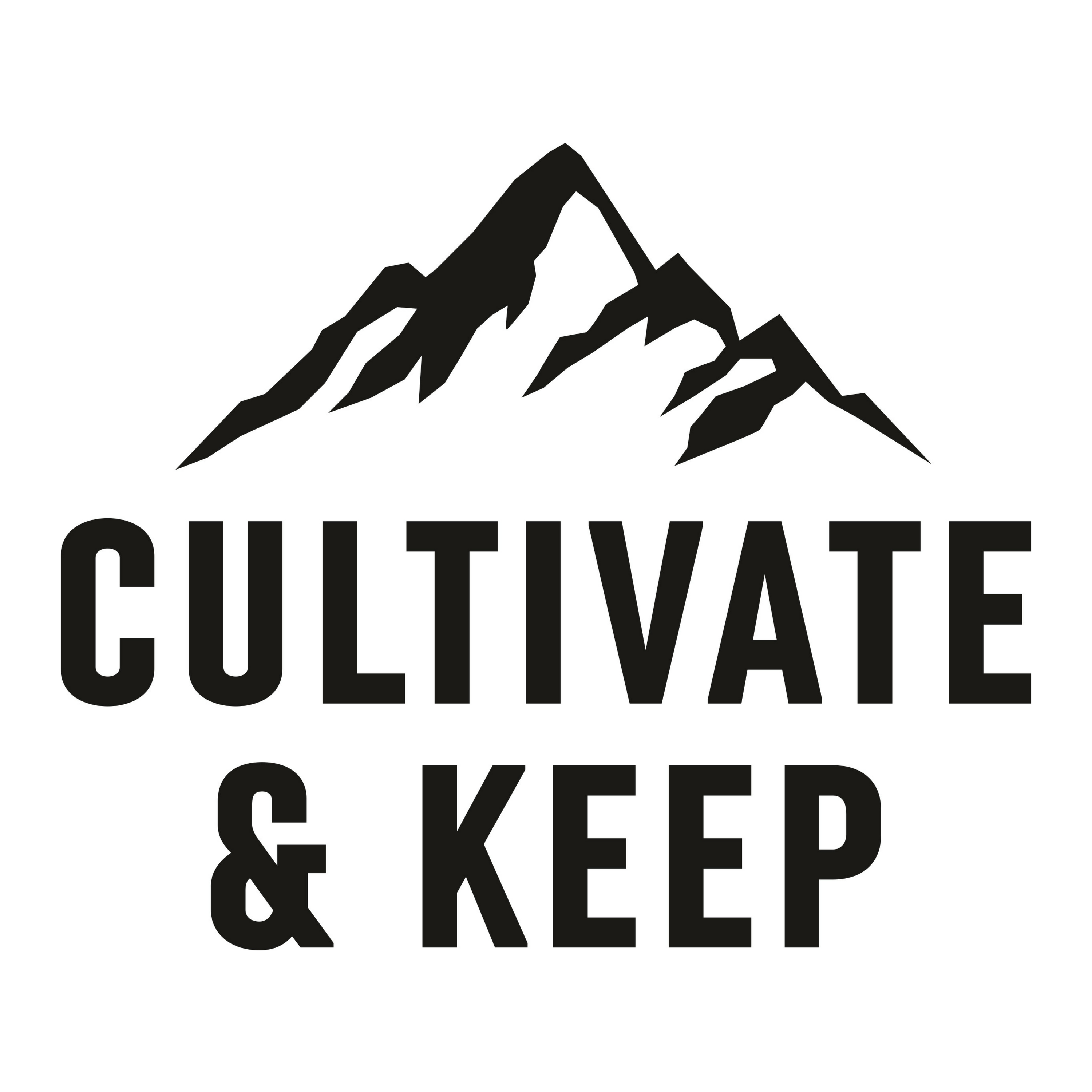 cultivate and keep podcast artwork