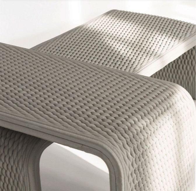 3D Printed furniture(Indoor&outdoor)