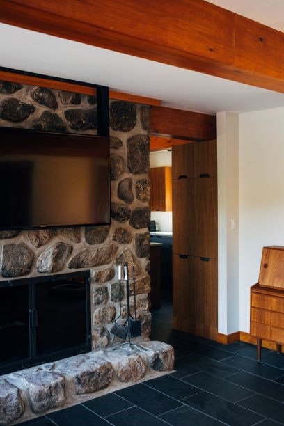 Mounting a TV above a fireplace
