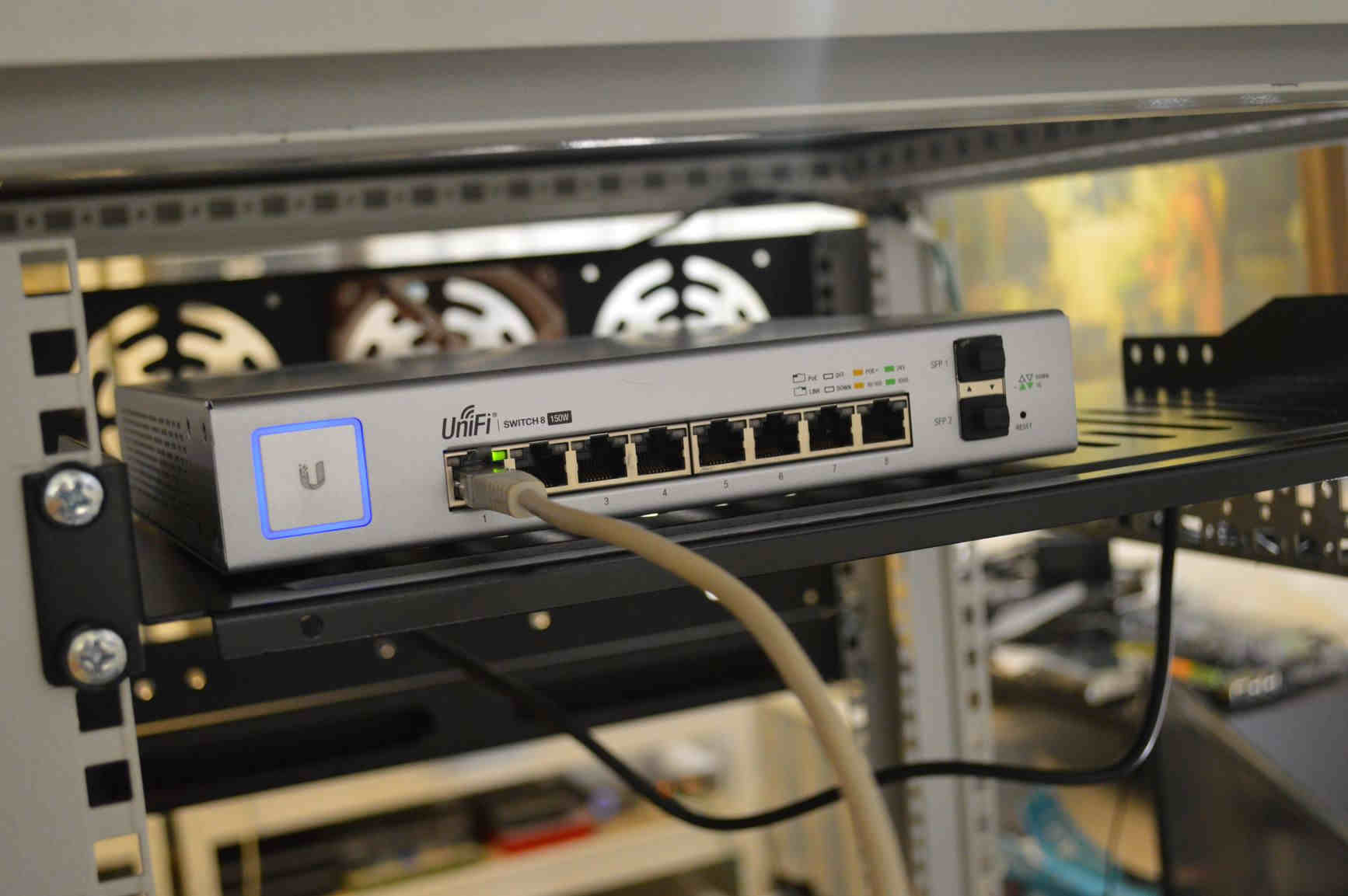 Unifi Switch for Home Wifi Network