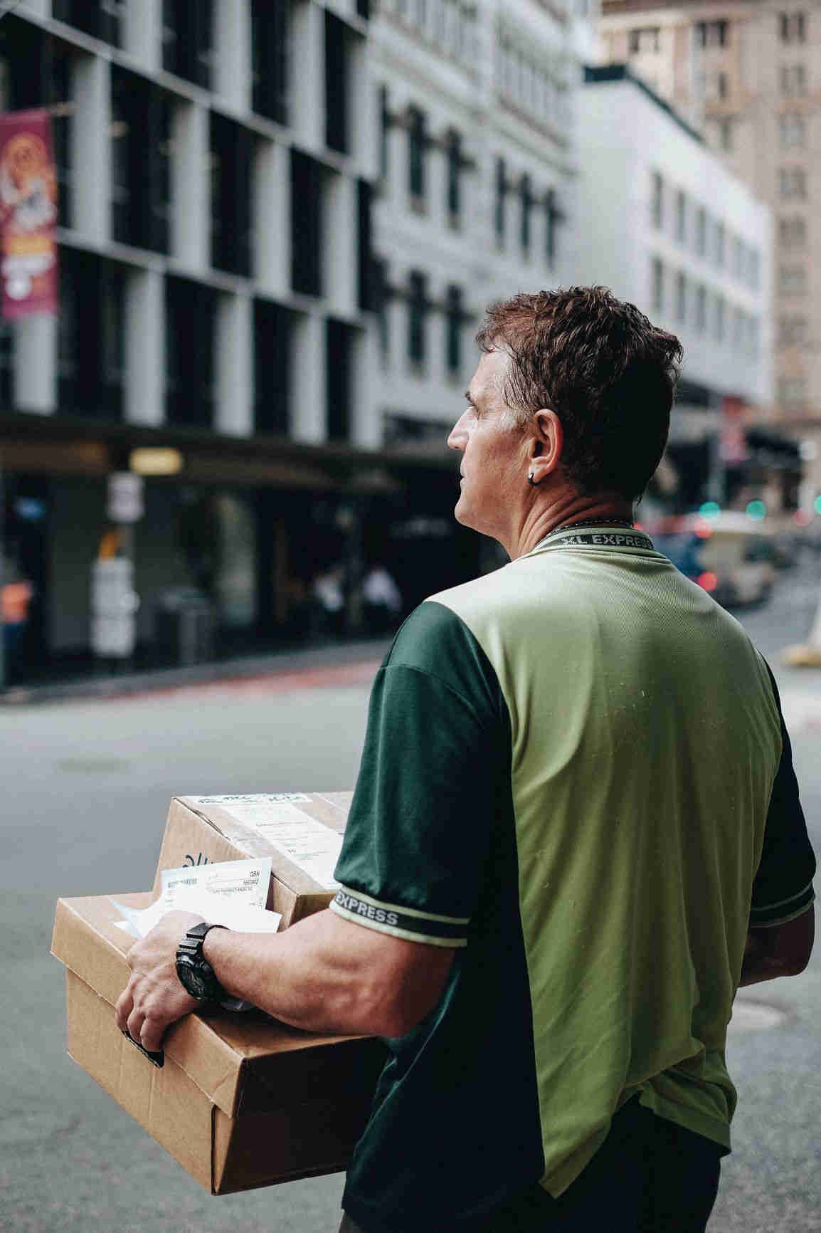 Intercom helps communication with delivery people