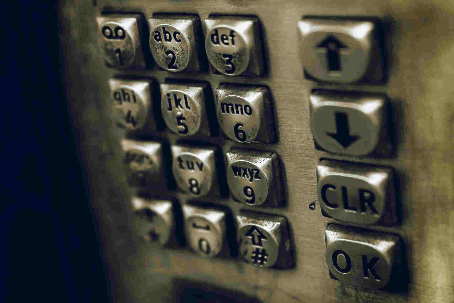 Keyless entry with numeric keypad