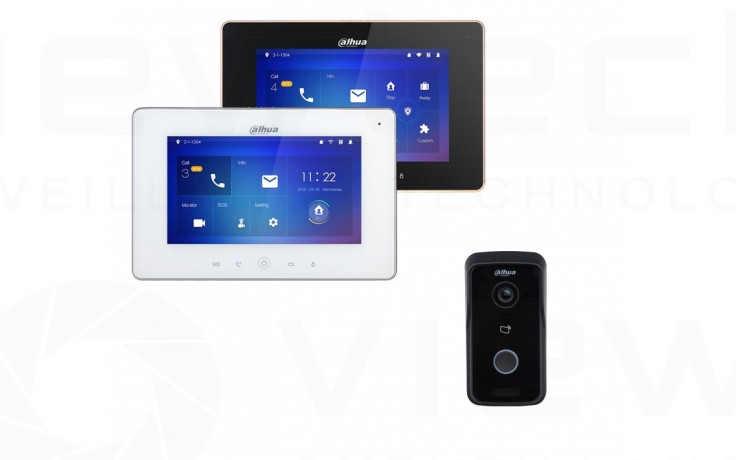Dahua WiFi Intercom with RFID Reader