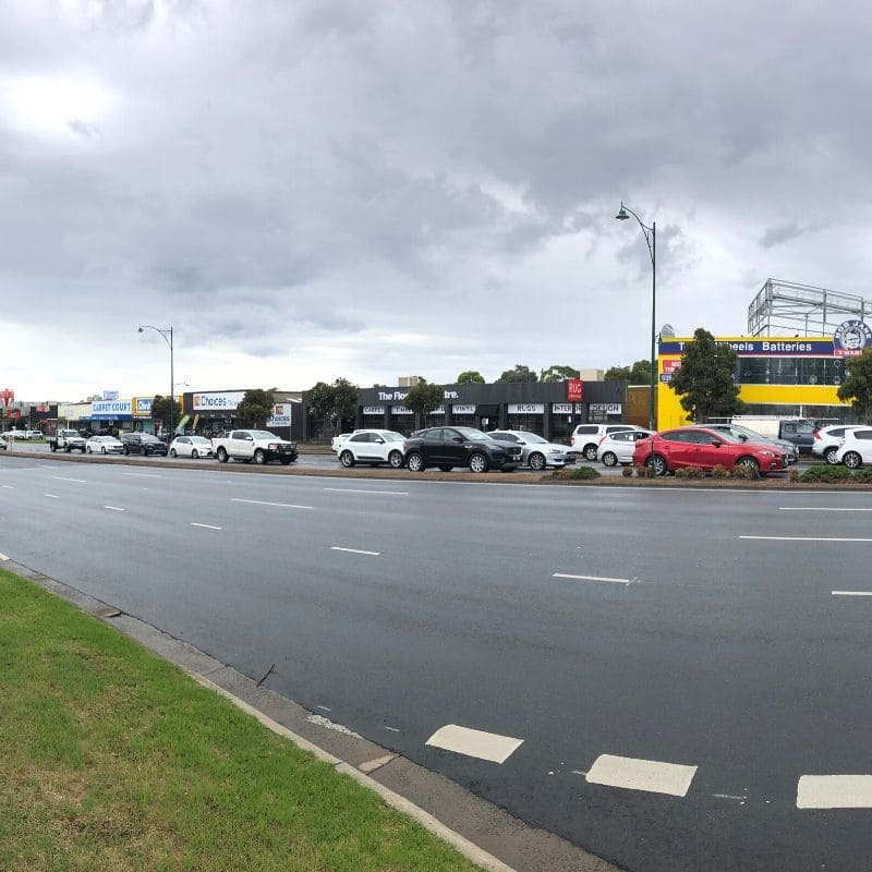 Mega Mile outlets in Nunawading