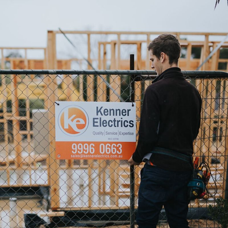 Kenner Electrics construction site