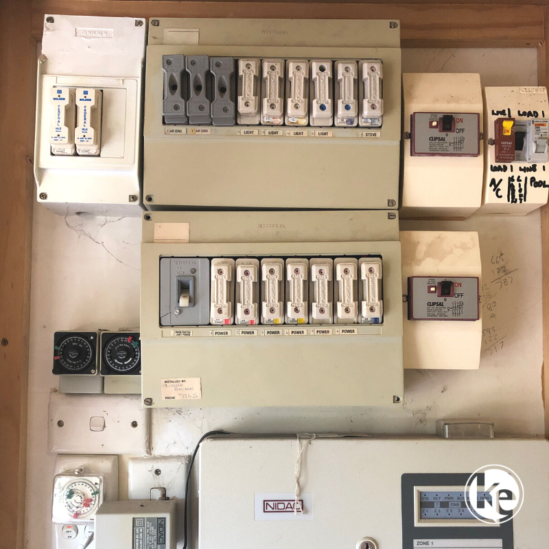 Old switchboard issues can cause an electrical emergency