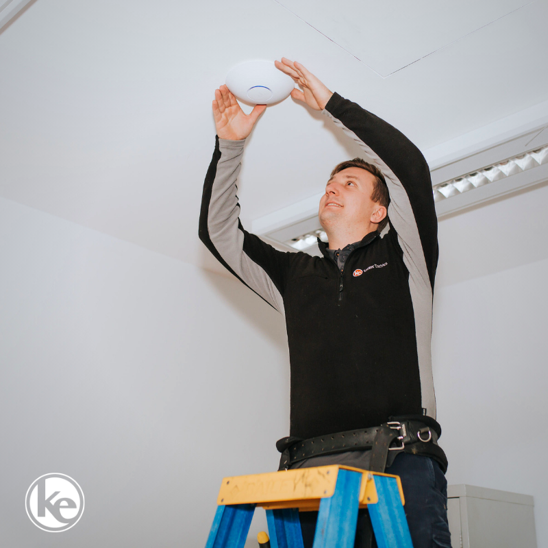 Wireless Access Point being installed to fix internet problems