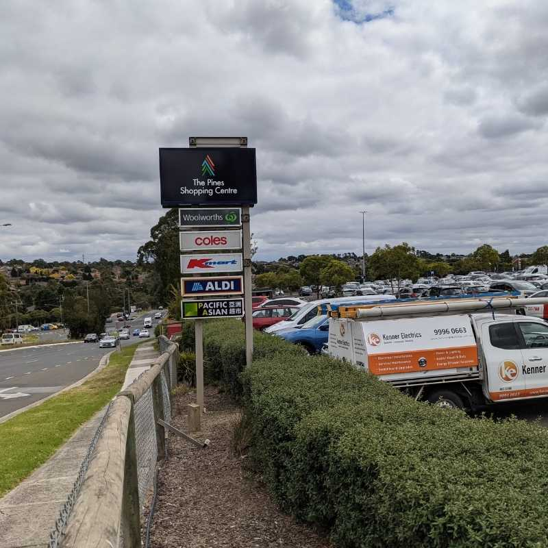The Pines Shopping Centre and Kenner Electrics