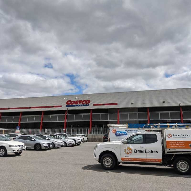Kenner Electrics parked at Costco in Ringwood