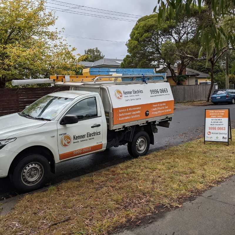 Forest Hill Electrician vehicle