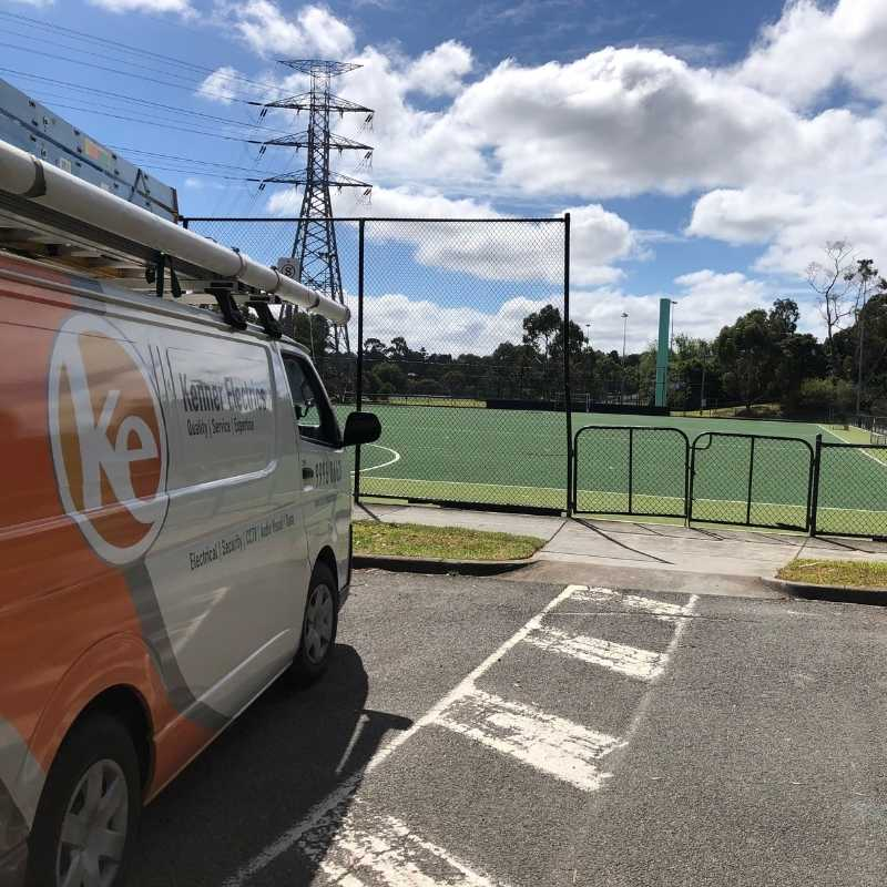 Hawthorn Hockey field and a local electrician
