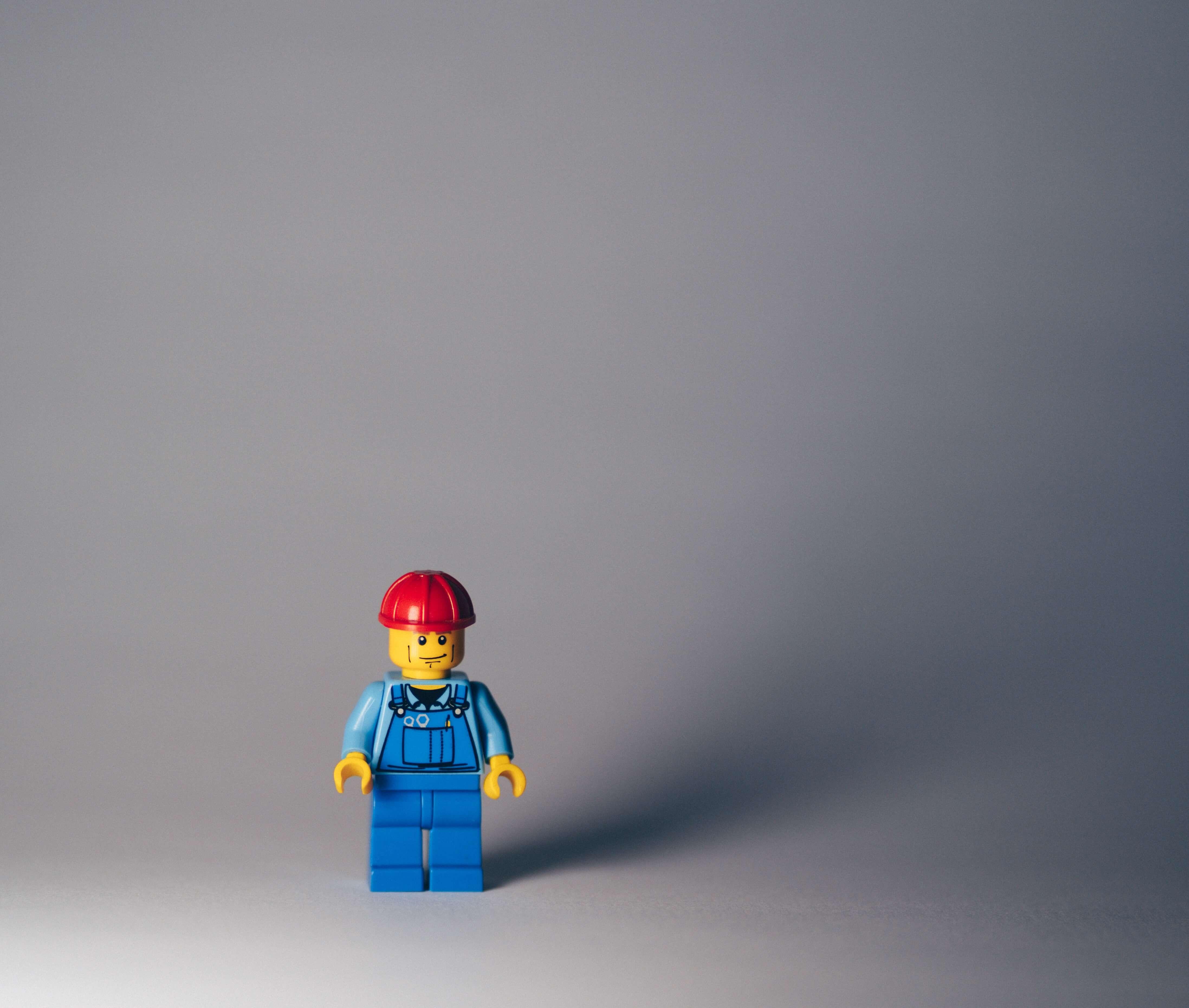 Lego minifig handyman
