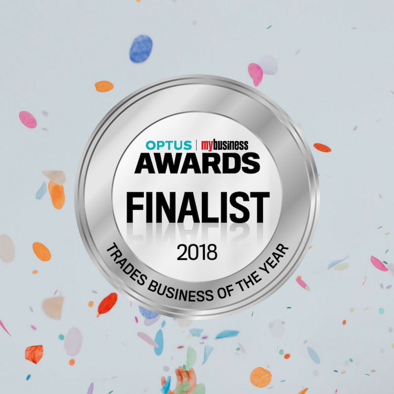 Optus Trade Business Award Finalist