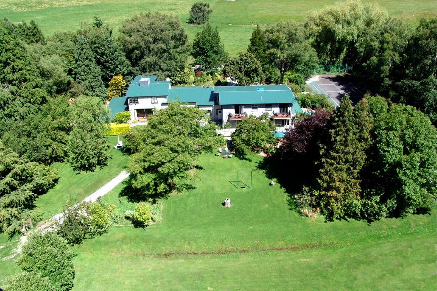 Aerial view of our training facility