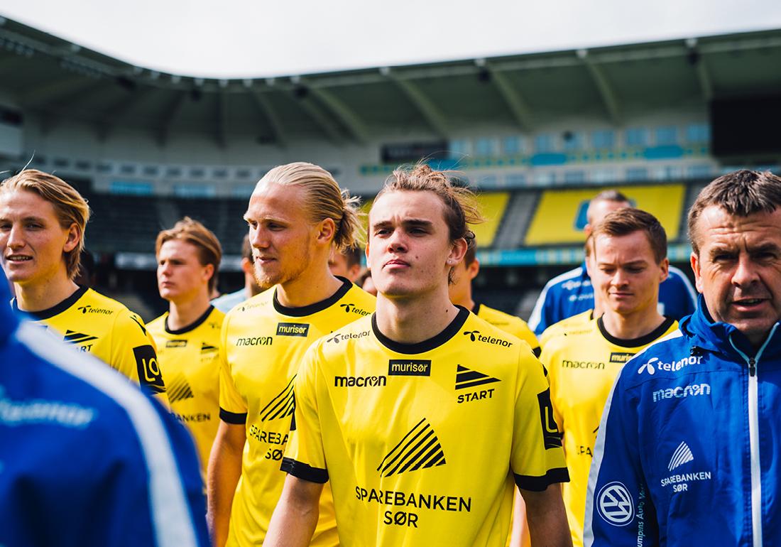 Ny drakt IK Start