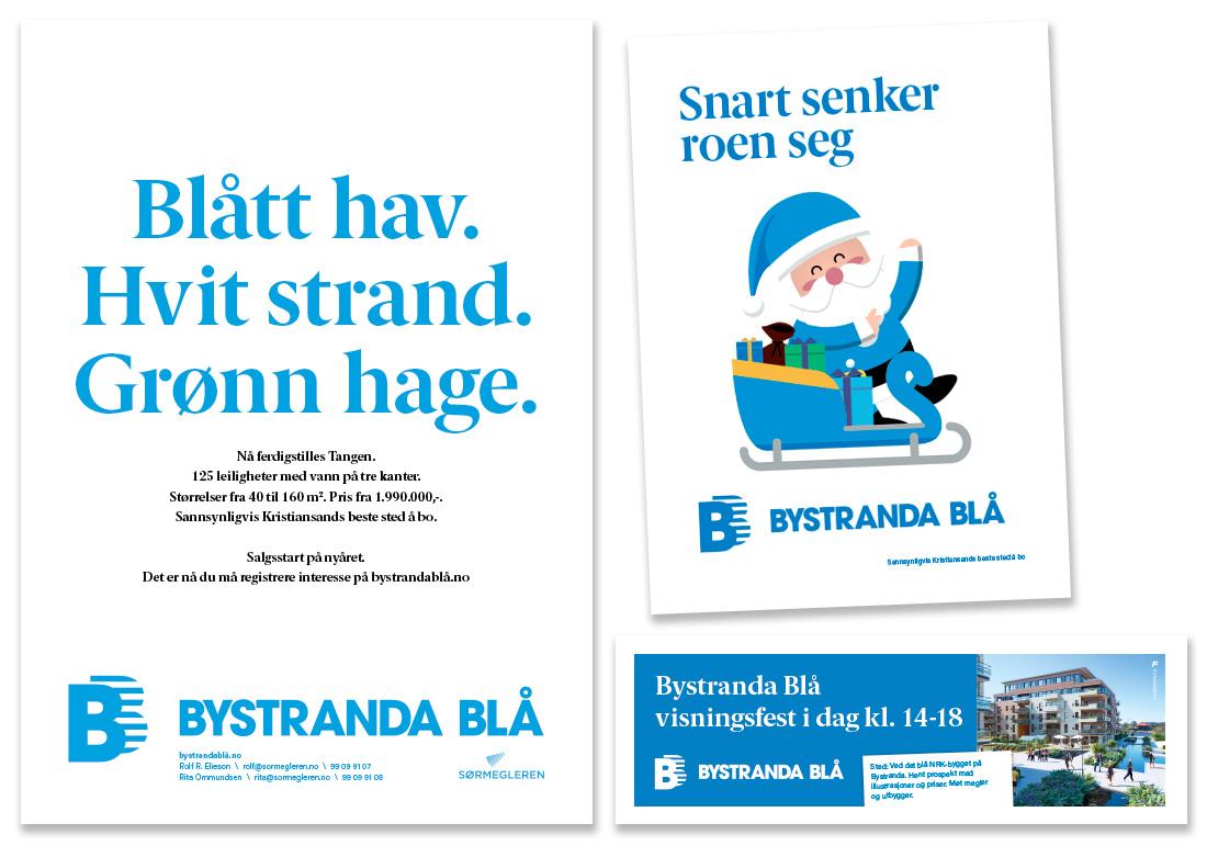 Salgsstartannonse Bystranda Blå