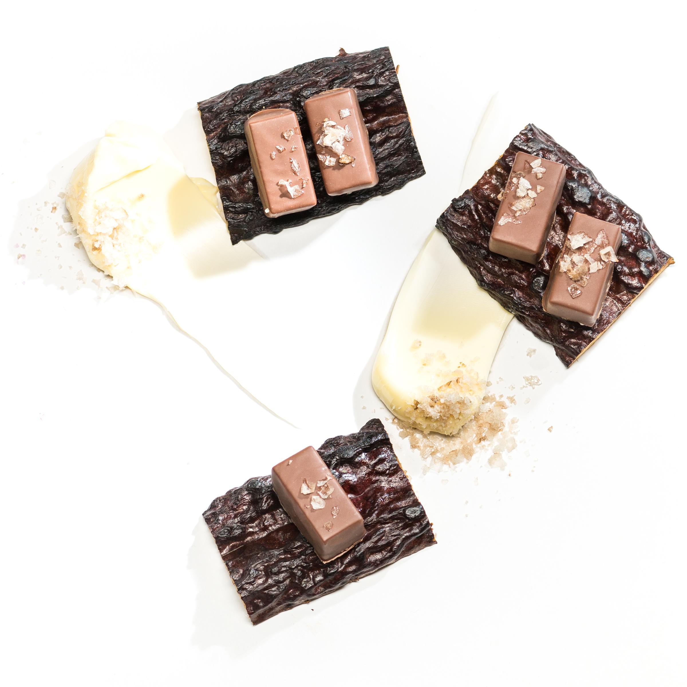 Braune Butter Schokolade
