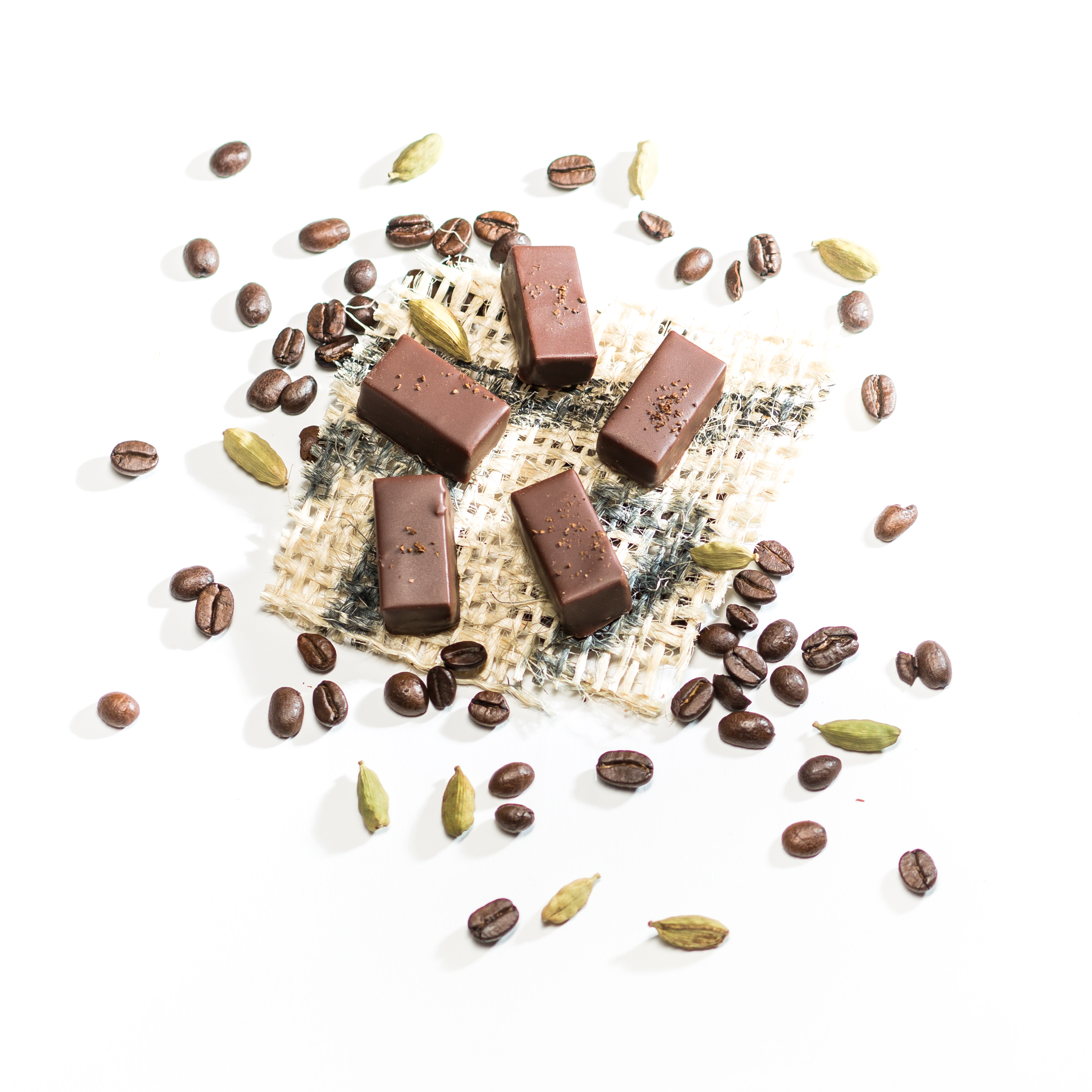 Kaffee Kardamom Schokolade