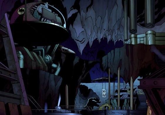 Batman's lair the Bat Cave
