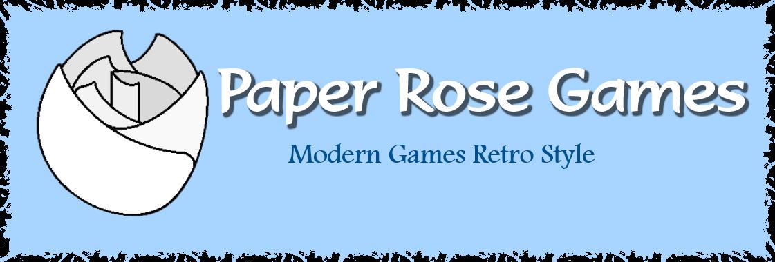 Paper Rose Games logo