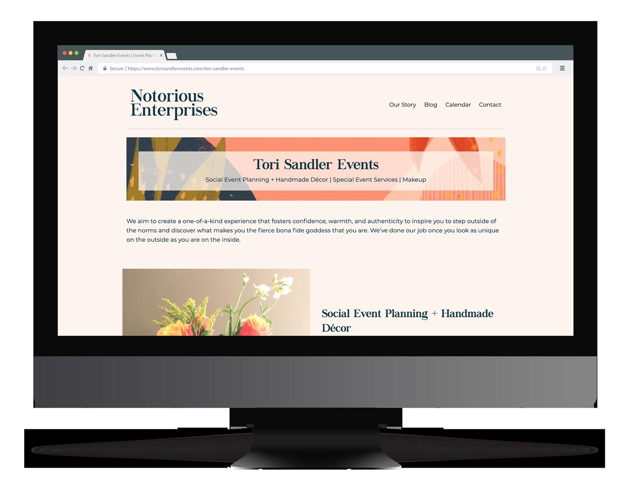 Tori Sandler Events | Tagd Studio | Indianapolis Branding Agency