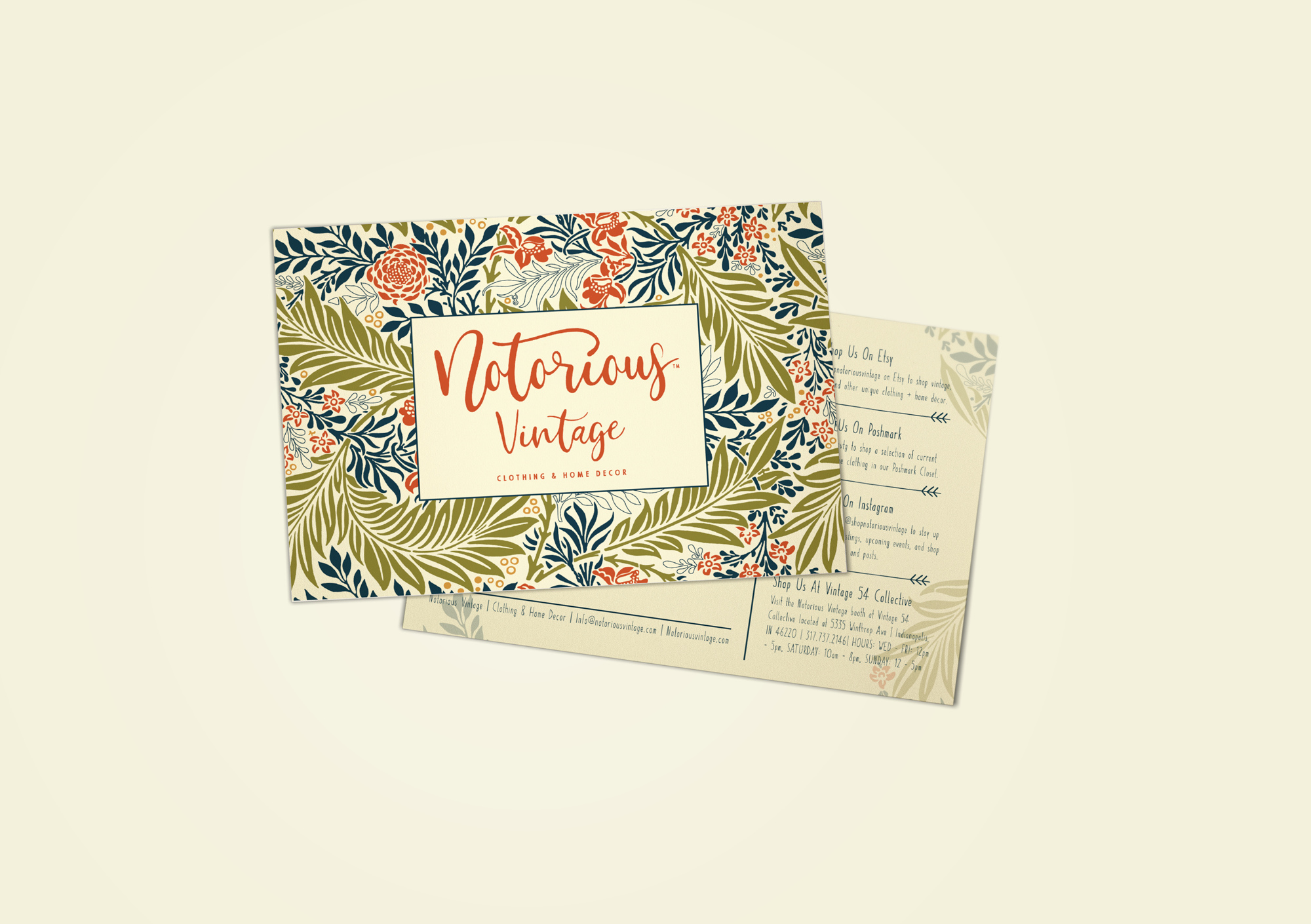 Notorious Vintage | Tagd Studio | Indianapolis Branding Agency