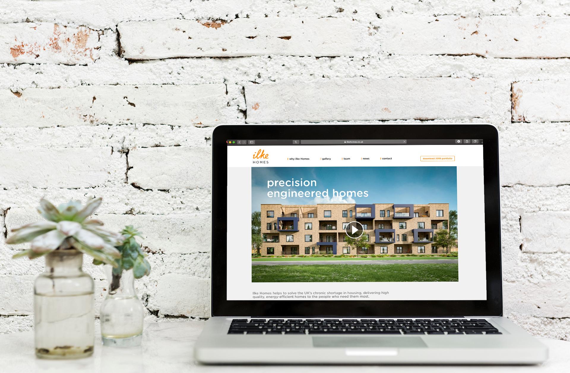Ilke Homes landing page