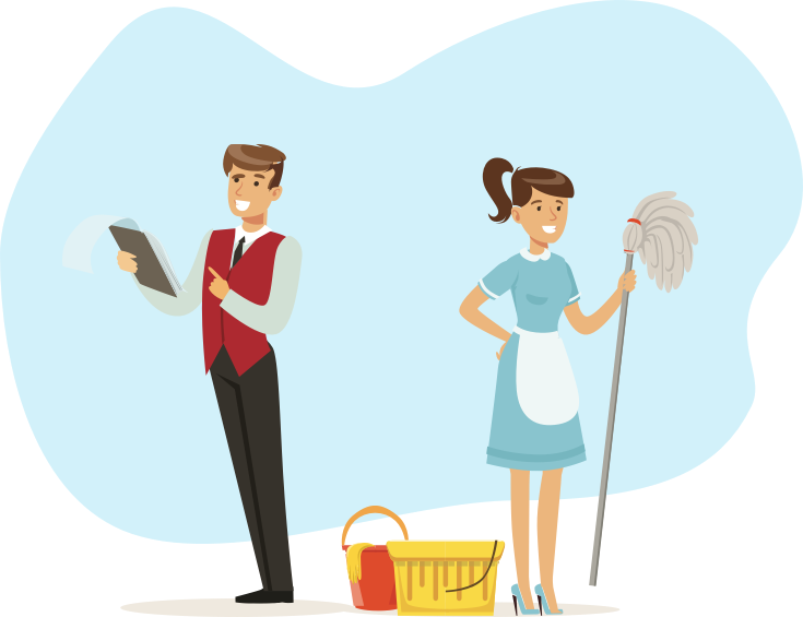 hotel mobile application housekeepers