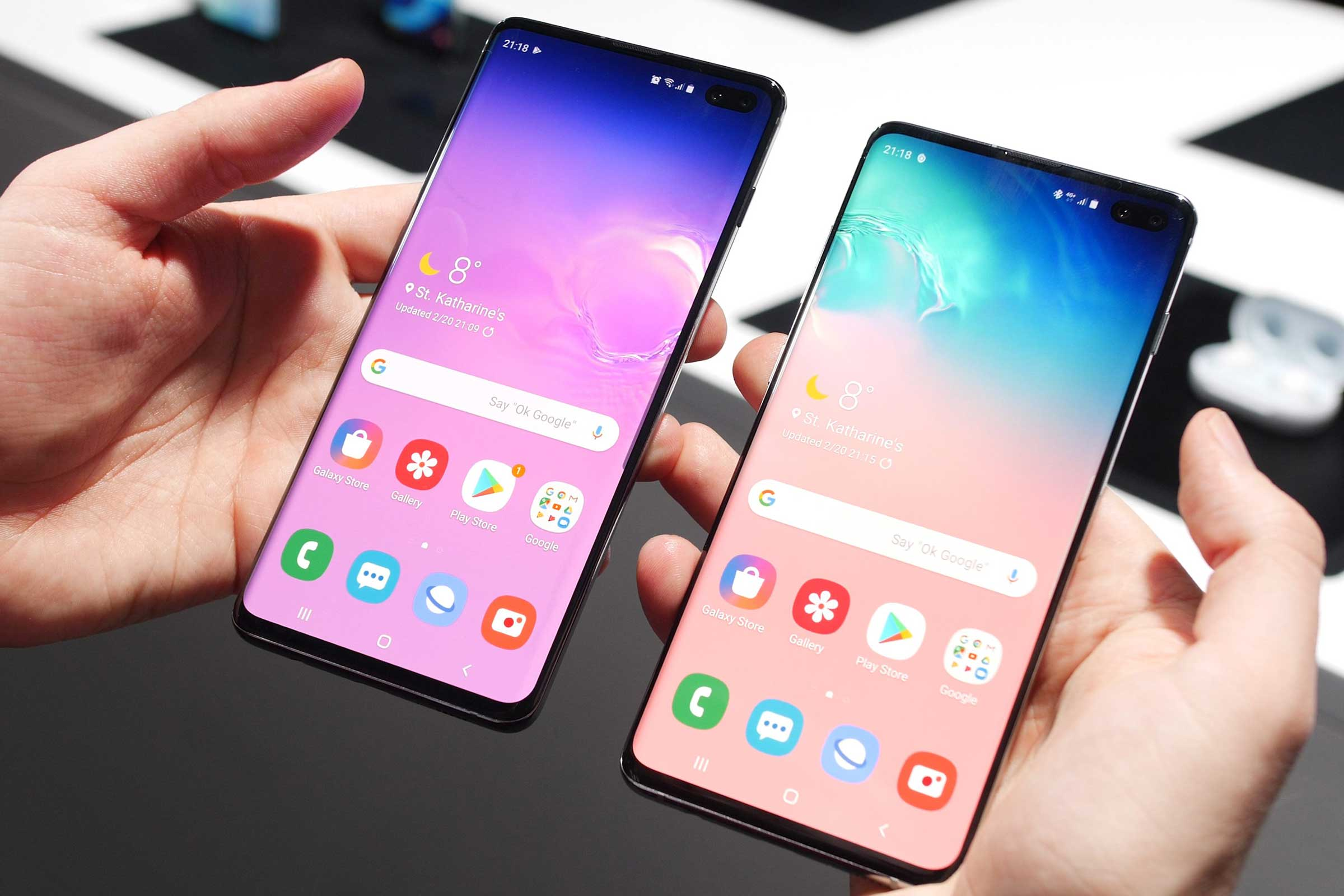 Samsung Galaxy S10 & S10+ for Business