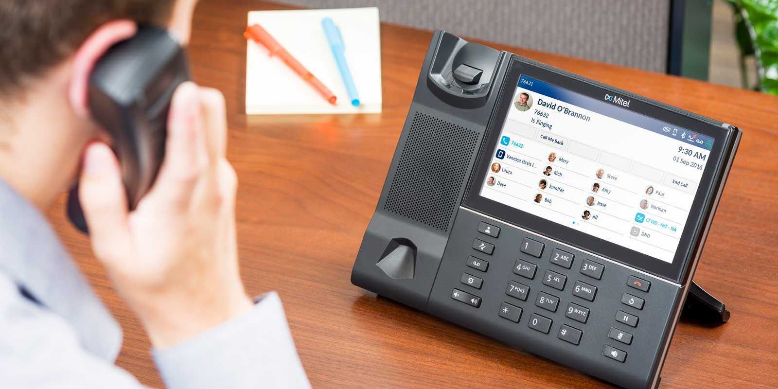Mitel VoIP telephone system