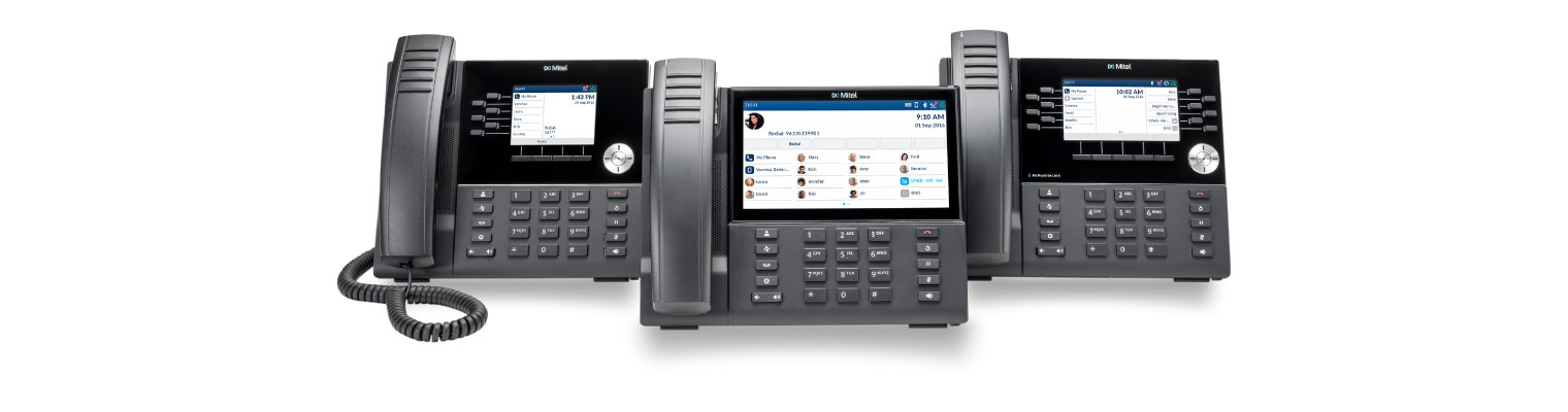mitel 6900 series business deskphones