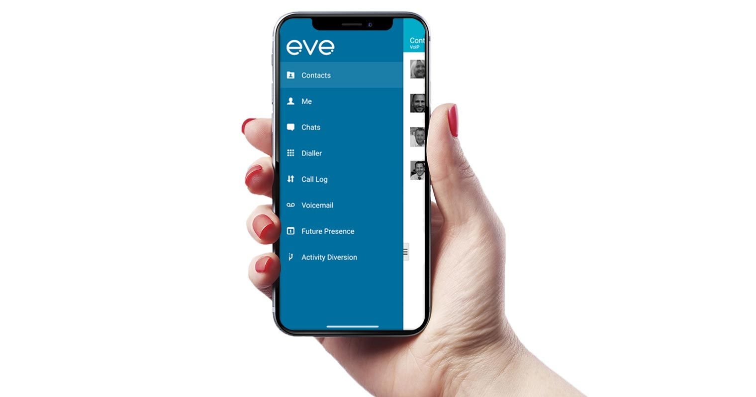 Hosted VoIP Mobile App