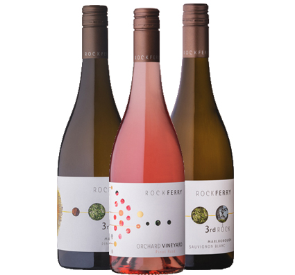 A selection of wines showing the beautiful fruit forward Marlborough style. This case includes 2 x 2019 3rd Rock Sauvignon Blanc, 2 x 2018 3rd Rock Pinot Gris & 2 x 2019 Orchard Vineyard Pinot Rose.