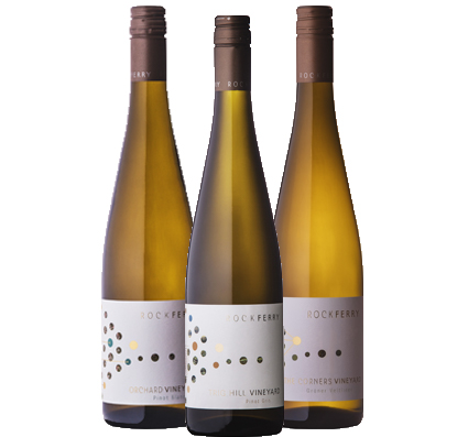 A collection of stunning aromatics from Marlborough & Central Otago. Includes 2 x 2018 The Corners Vineyard Gruner Veltliner, 2 x 2017 Orchard Vineyard Pinot Blanc, 2 x 2016 Trig Hill Pinot Gris