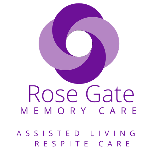 Rose Gate Memory Care Logo