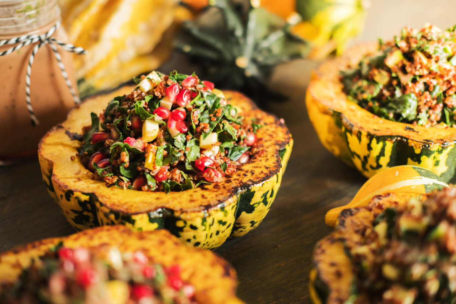 Seasonal Stuffed Squash