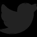 black twitter bird icon