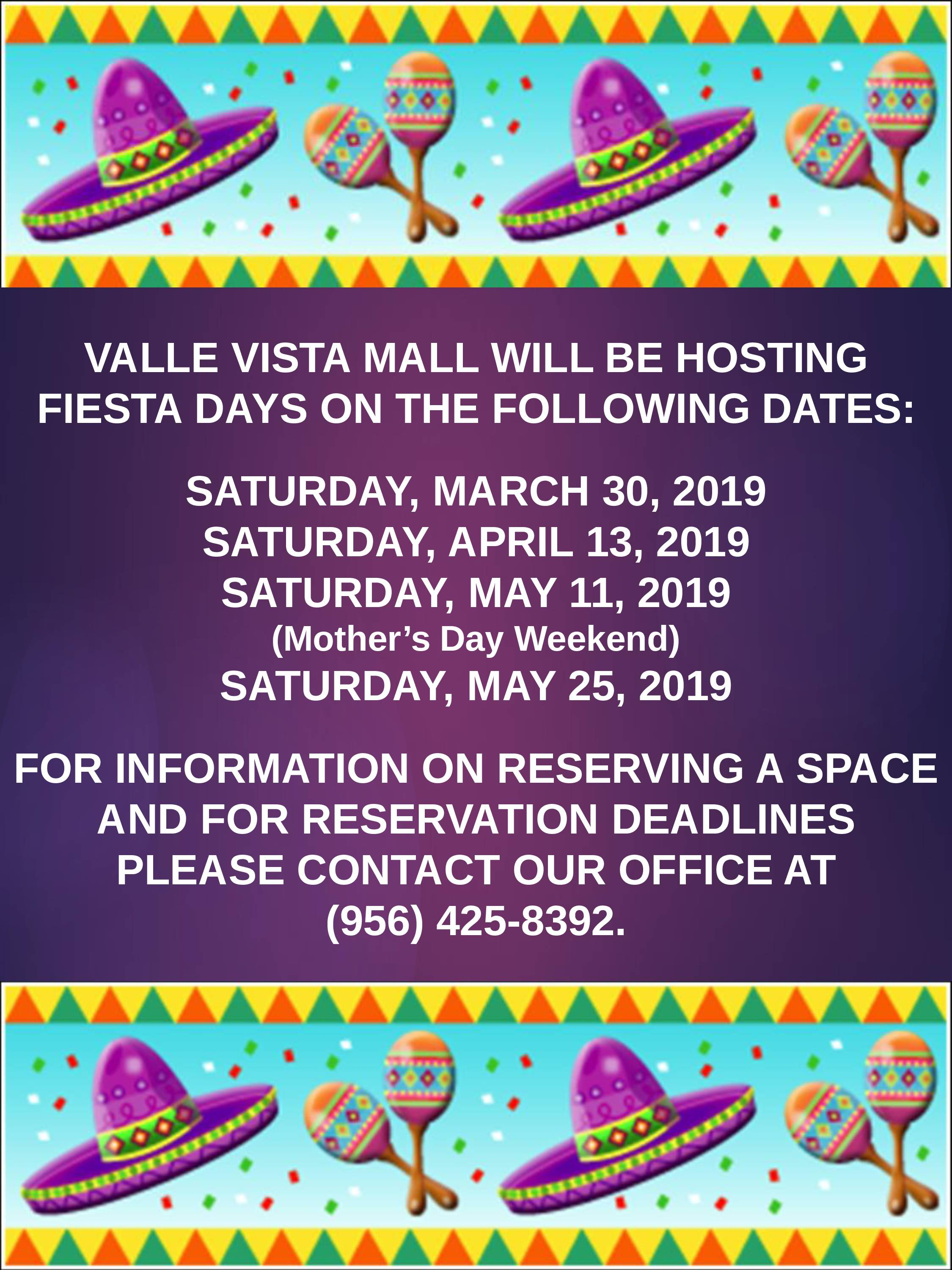 Fiesta Days Sign Up