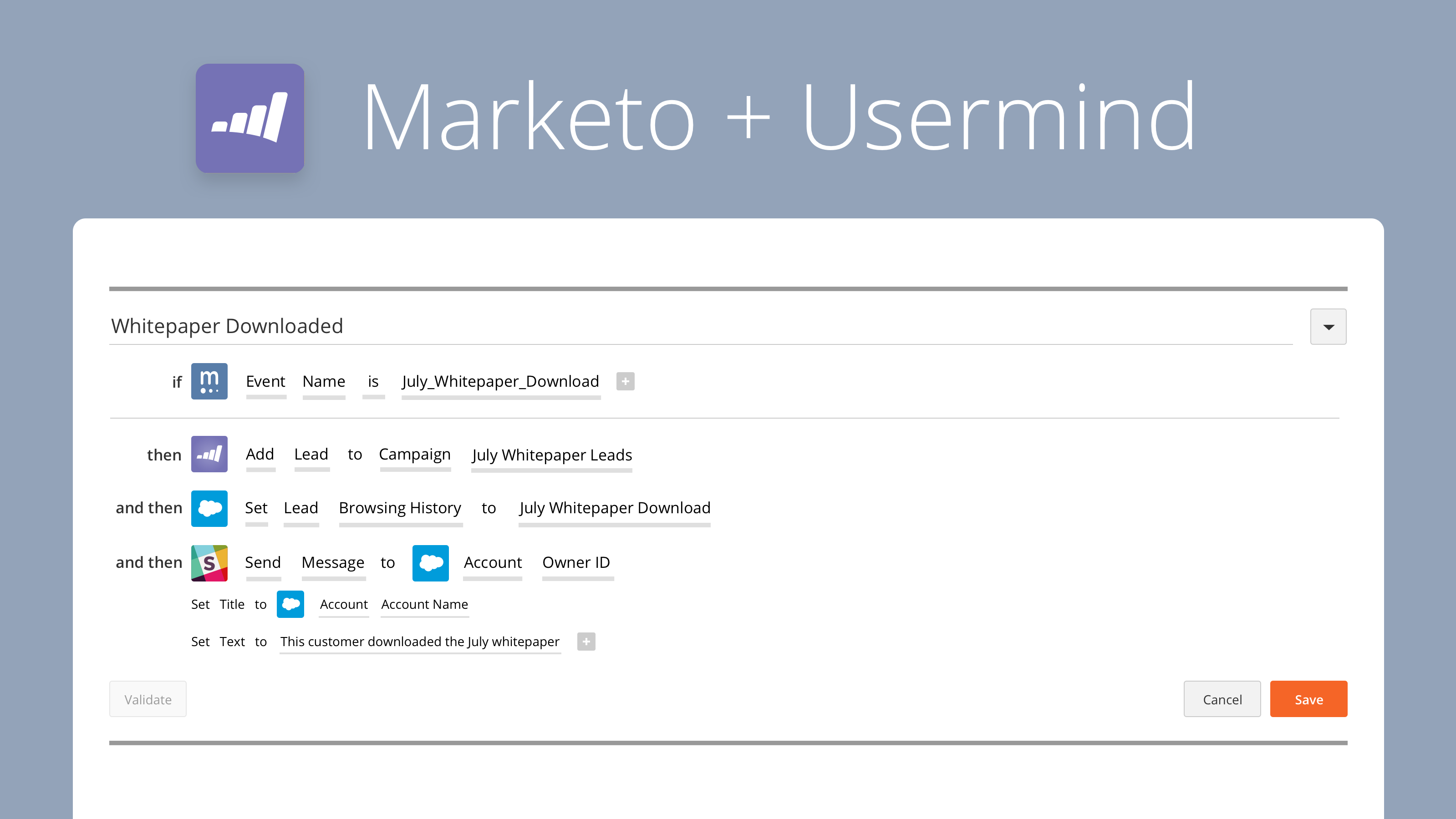 Add Value to Your Marketing Automation with our Marketo Integration
