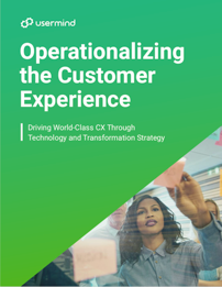 Operationalizing the Customer Experience