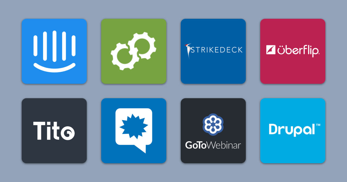 Usermind Integrates with Strikedeck, Drupal, GoToWebinar, Tito, Kapost, Uberflip, and Intercom