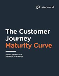 The Customer Journey Maturity Curve